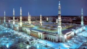 Masjid-e-Nabavi-Madina-Saudi-Arabia