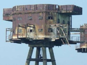 Maunsell Sea Forts - North Sea, England