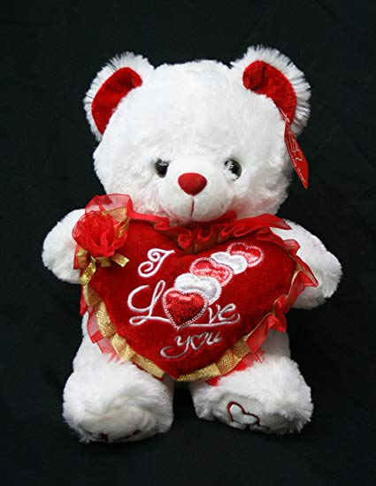 Valentine's Teddy Bear for Her