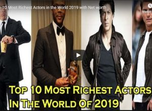 Top 10 Most Richest Actors in the World 2019 with Net worth