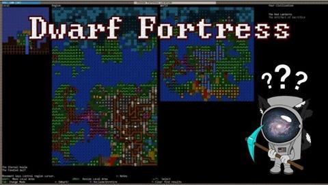 ড্রফ ফর্ট্রেস (Drawf Fortress)